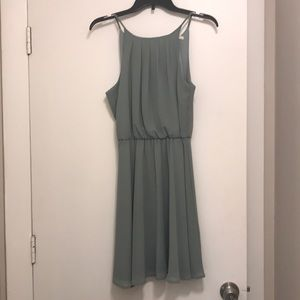 Small Sage Green Miami Brand Dress